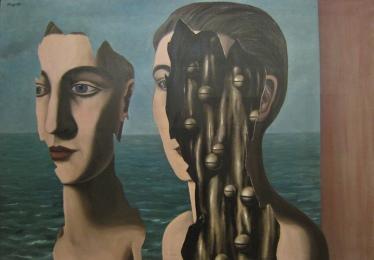 Rene Magritte, Le double secret, 1927