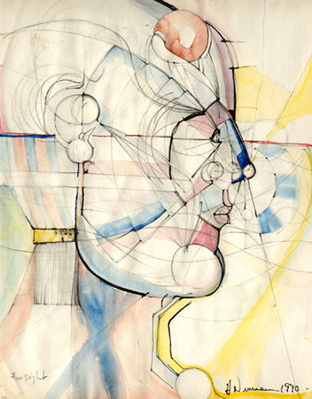 Howard_Newman_Farsight_Watercolor_charcol_and_graphite_1990