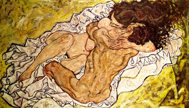 the-embrace-egon-schiele